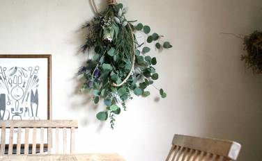 スワッグの通販はじめました。本と植物で生活空間を豊かにしませんか?