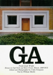 No.25 フランク・ロイド・ライト : オークパークとリヴァーフォレストの住宅 | GA グローバル・アーキテクチュア