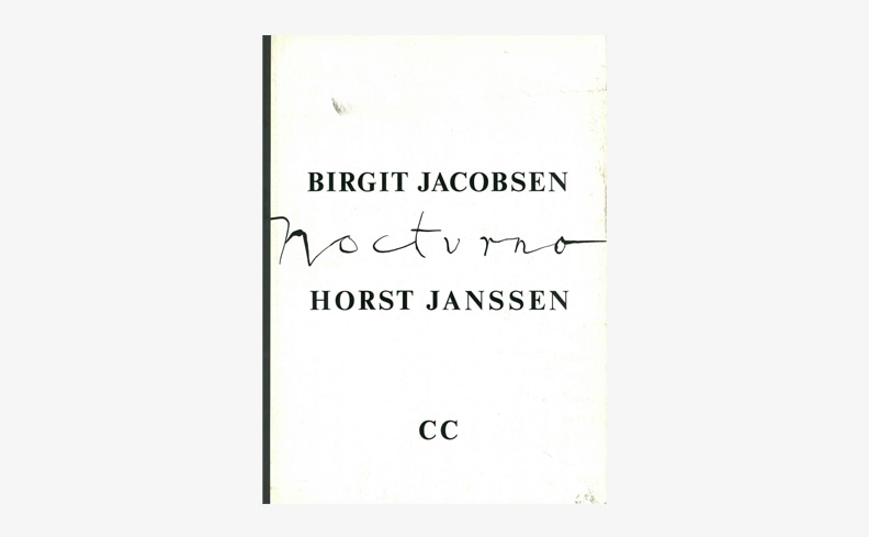 Nocturno | Horst Janssen ホルスト・ヤンセン