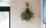 季節の植物で作るスワッグ S | ふたつの月