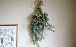 季節の植物で作るスワッグ M | ふたつの月