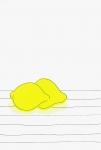 安西水丸ポストカード | レモン