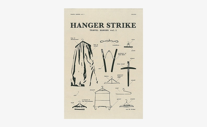 Hanger Strike vol.1 Basic・Pants・Travel 3冊セット | 安田嗣