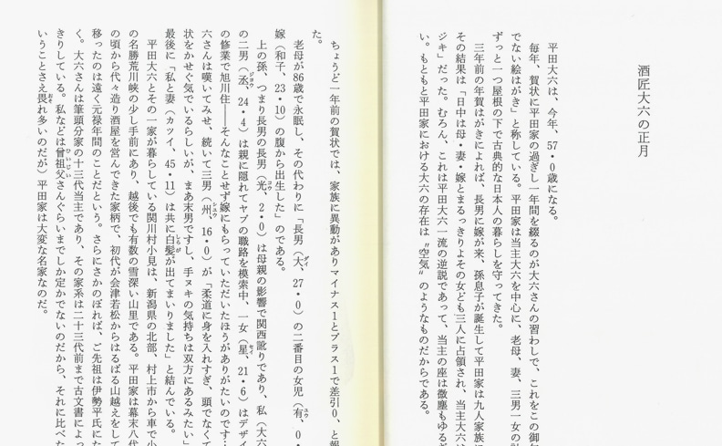 うまいもの職人帖 | 佐藤隆介