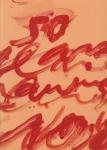 Cy Twombly Fifty Years of Works on Paper | サイ・トウォンブリー展