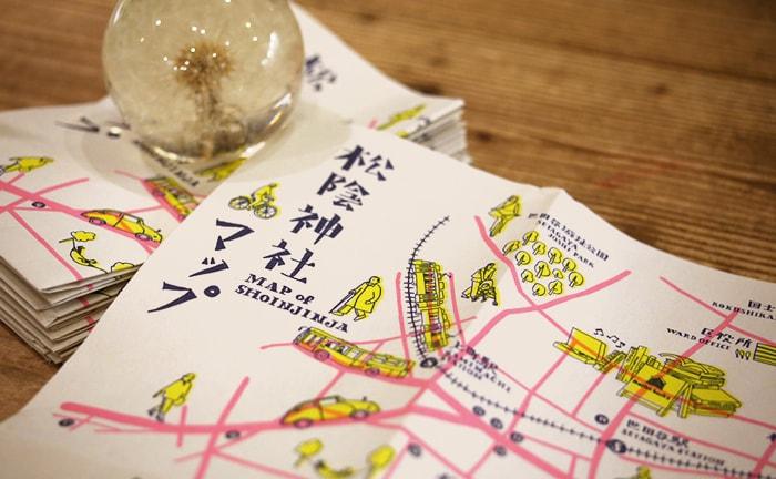 松陰神社マップ