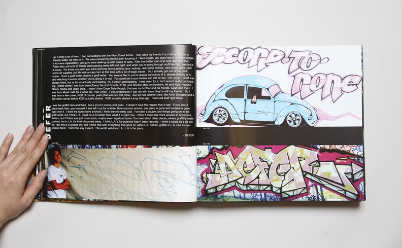 The History of Los Angels Graffiti Art volume 1