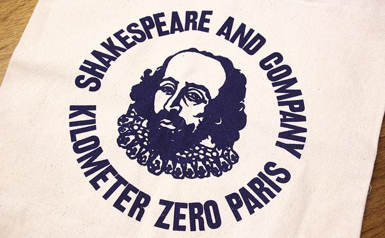 Shakespeare and Company シェイクスピア・アンド・カンパニー トートバッグ