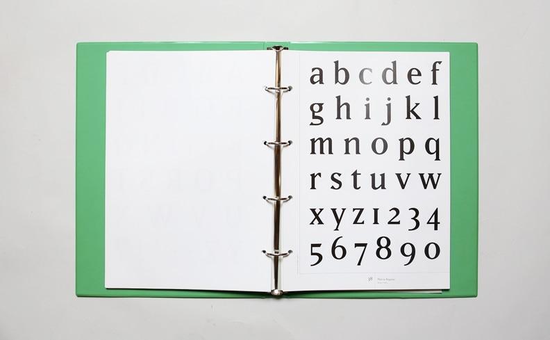 Emigre Font Book 1 エミグレ・フォントブック | ルディ・バンダーランス
