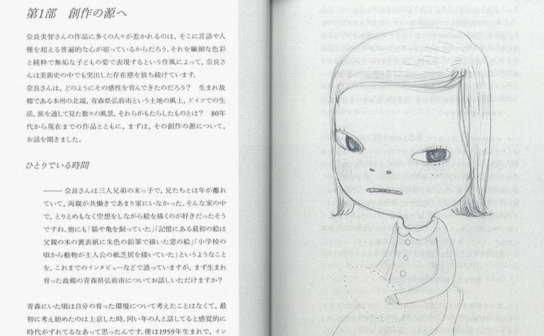 疾駆 CHIC 第9号 | ポートレート 02 奈良美智
