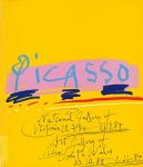 Picasso: National Gallery of Victoria 28.7.84 - 23.9.84. Art Gallery of New South Wales 10.10.84 - 2.12.84 | バブロ・ピカソ