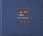 Elementary Calculus | J Carrier ジェイ・カリエール
