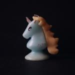 OLGA Goose Candle キャンドル ユニコーン ブルー/男の子
