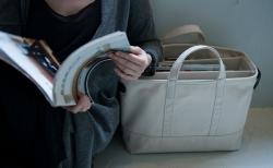 レアジェム × ノストスブックス「Magazine Bag」の出来るまで。その2。