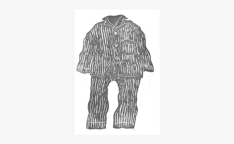 北村太 ポストカード パジャマ