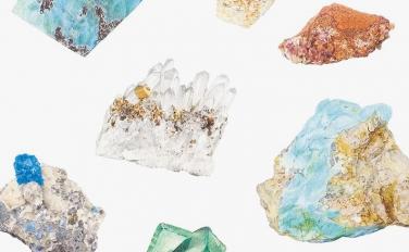 イラストレーター・内田有美 2018年カレンダー原画展「鉱石」