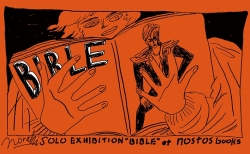 【1月の展示】伝説のアーティストたちをアパレルに。ペインター・norahi個展「BIBLE」