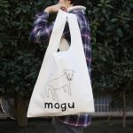 nostos books × そで山かほ子 オリジナルマルシェバッグ モグー