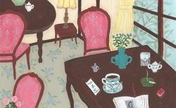 【2月の展示】ノストスブックスが喫茶店に変身?そで山かほ子個展「どこかの街の喫茶店」