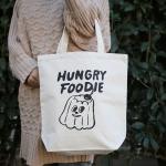 トートバッグ Hungry Foodie Jerry M | 平塚大輔
