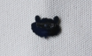 MEDO×ハトホタテ エナメル(七宝焼)ブローチ   クマ