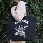 Paint&Supply トートバッグ Alaska ブラック