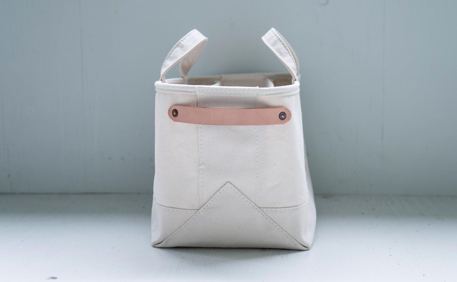 raregem × nostos books | Magazine Bag(Natural)マガジンラック